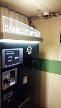Caisse automatique