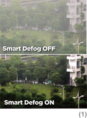 Smart defog