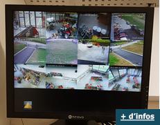 Ecran visualisation des cameras