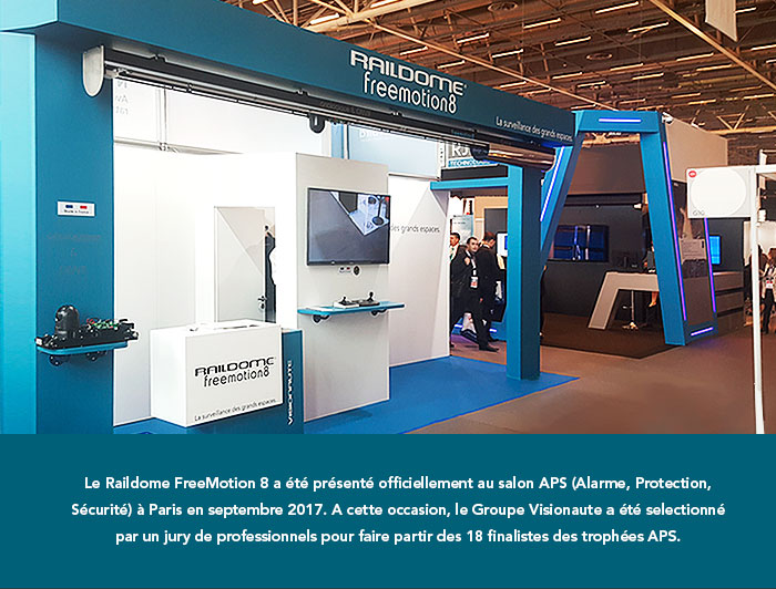 Le stand Freemotion8 au salon APS