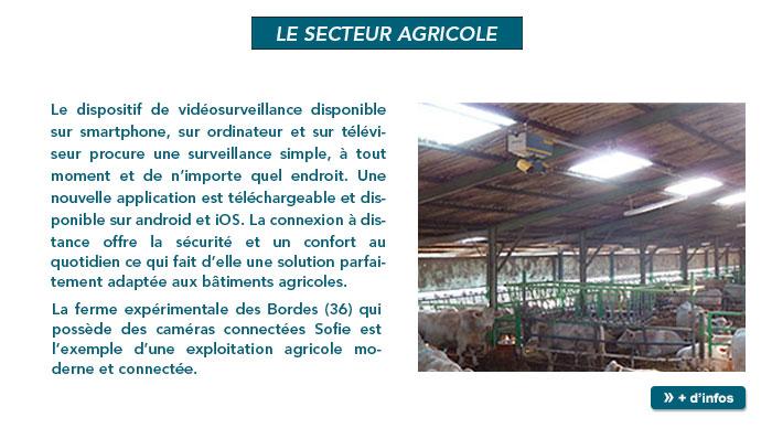 La vidéosurveillance dans le secteur agricole